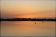 ein Tag geht zu Ende... Sonnenuntergang *am See*