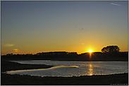 ein Tag geht zu Ende... Sonnenuntergang *Bislicher Insel*
