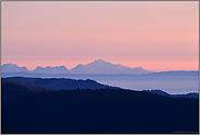 Fernsicht... Mont Blanc *Westalpen*