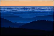 fließende Wolken... Sonnenuntergang *Vogesen*