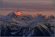 Alpenglühen... Alpen *Hochalpen*