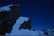 unterm Sternenhimmel... schneebedeckte Alpen *Hochalpen*