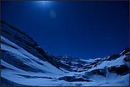 im Mondschein... Alpenpass *Hochalpen*