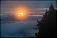 ein Tag geht zu Ende... Sonnenuntergang *Alpen*