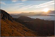 der Tag erwacht... Sonnenaufgang *Alpen*