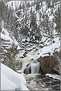 Firehole Falls... Yellowstone National Park *Wyoming*