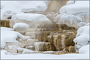 Sinterterassen... Mammoth Hot Springs *Yellowstone Nationalpark*