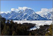 die Teton Range... Rocky Mountains *Nordamerika*