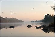 Morgenstimmung am See... Schweden *Südschweden*